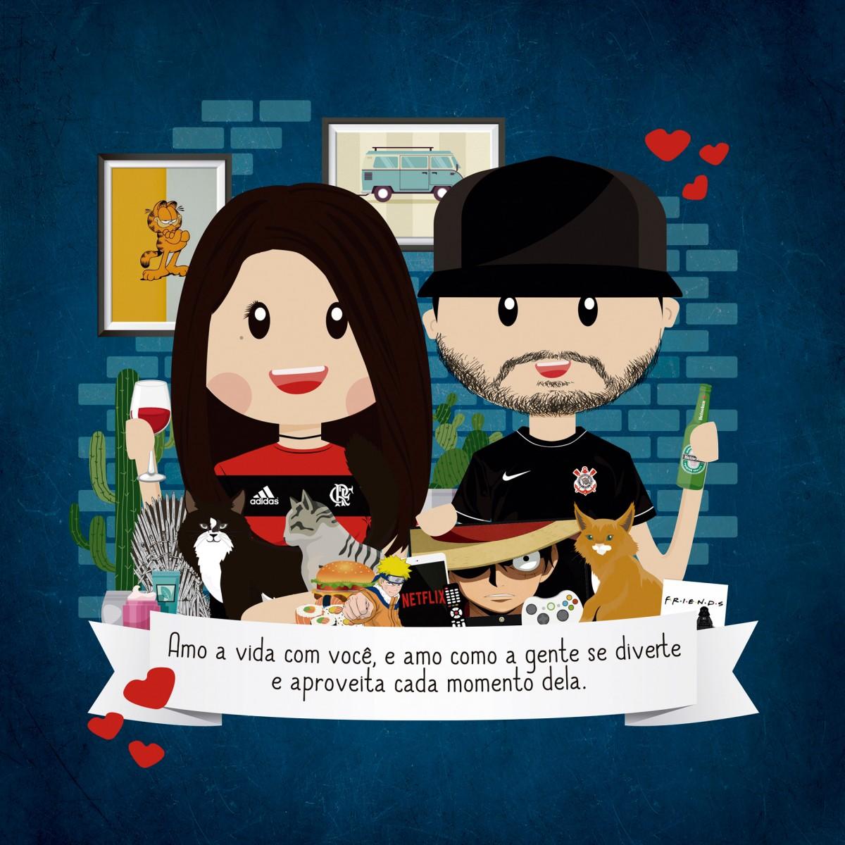 Foto2 - Arte personalizada enviada por e-mail