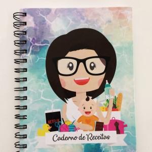 Foto6 - Caderno de Receitas Personalizado