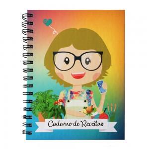Foto1 - Caderno de Receitas Personalizado