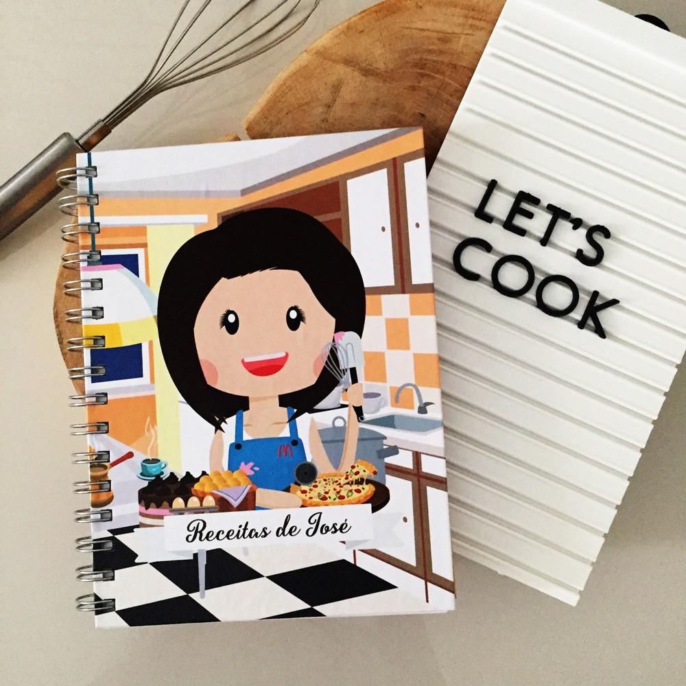 Foto3 - Caderno de Receitas Personalizado
