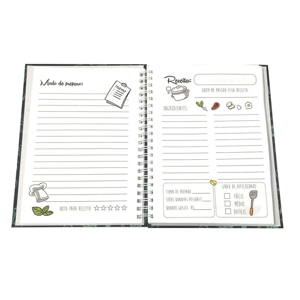 Foto4 - Caderno de Receitas Personalizado