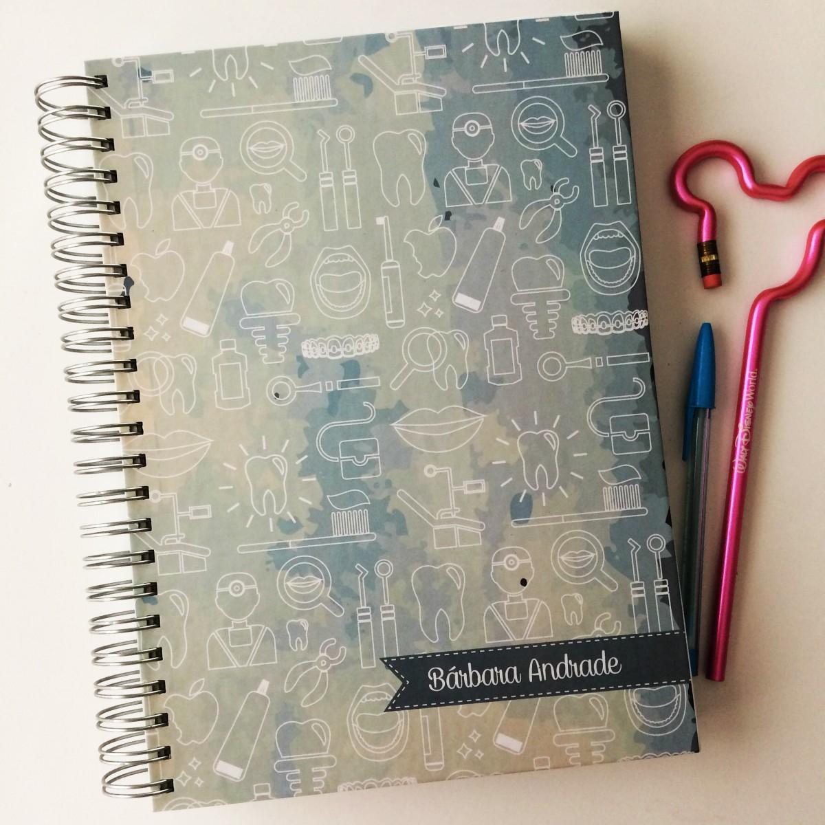 Foto8 - Caderno Estampado