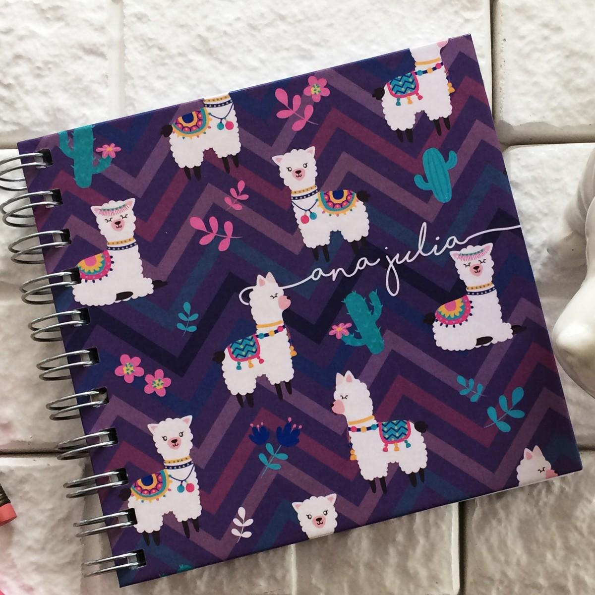 Foto4 - Caderno Personalizado - Estampa