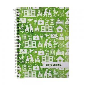 Foto1 - Caderno Personalizado - Estampa