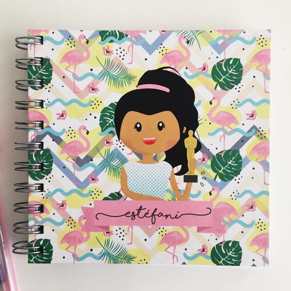 Foto4 - Caderno Personalizado - Ilustração