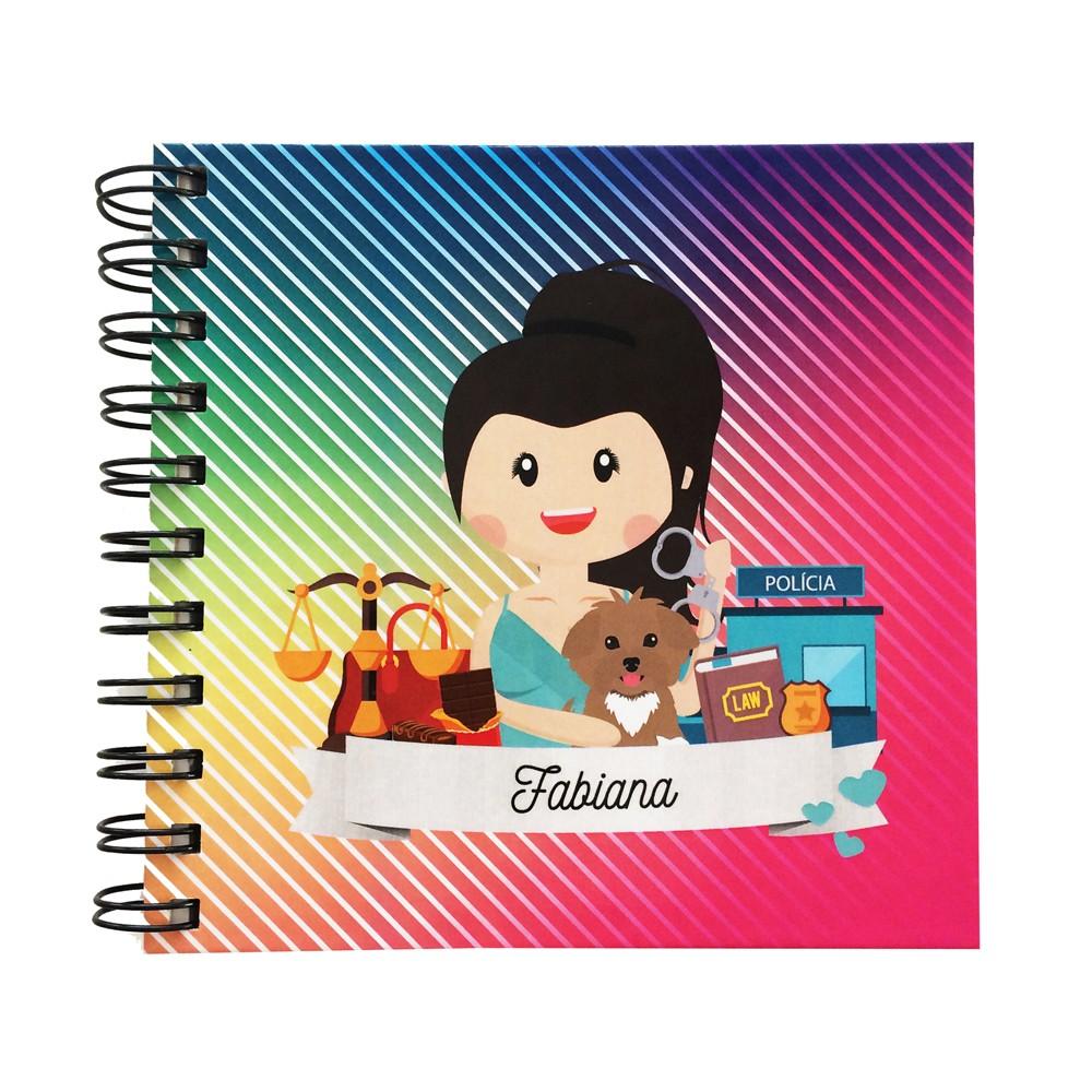 Foto 1 - Caderno Personalizado - Ilustração