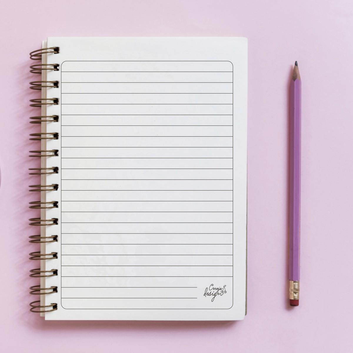 Foto3 - Caderno Personalizado - Ilustração