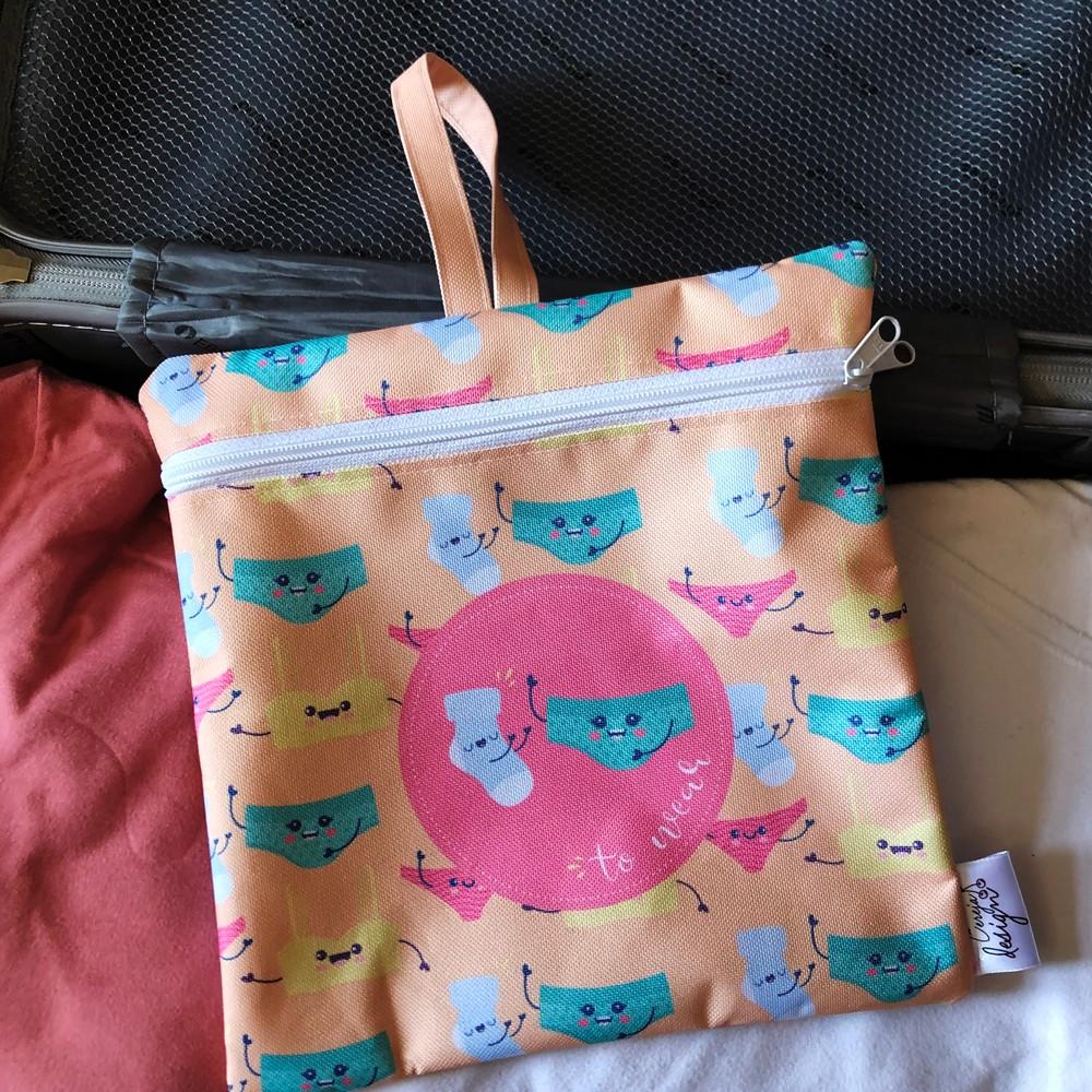 Foto3 - Necessaire Limpo/Sujo Personalizada