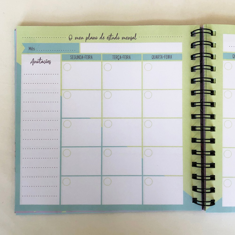 Foto6 - Planner de Estudos - Capa Personalizada