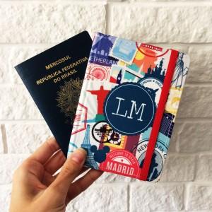 Foto3 - Porta Passaporte Personalizado