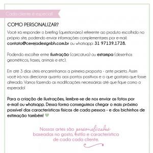 Foto2 - Porta Passaporte Personalizado