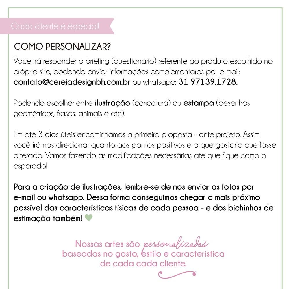 Foto3 - Pôster Personalizado - Ilustração