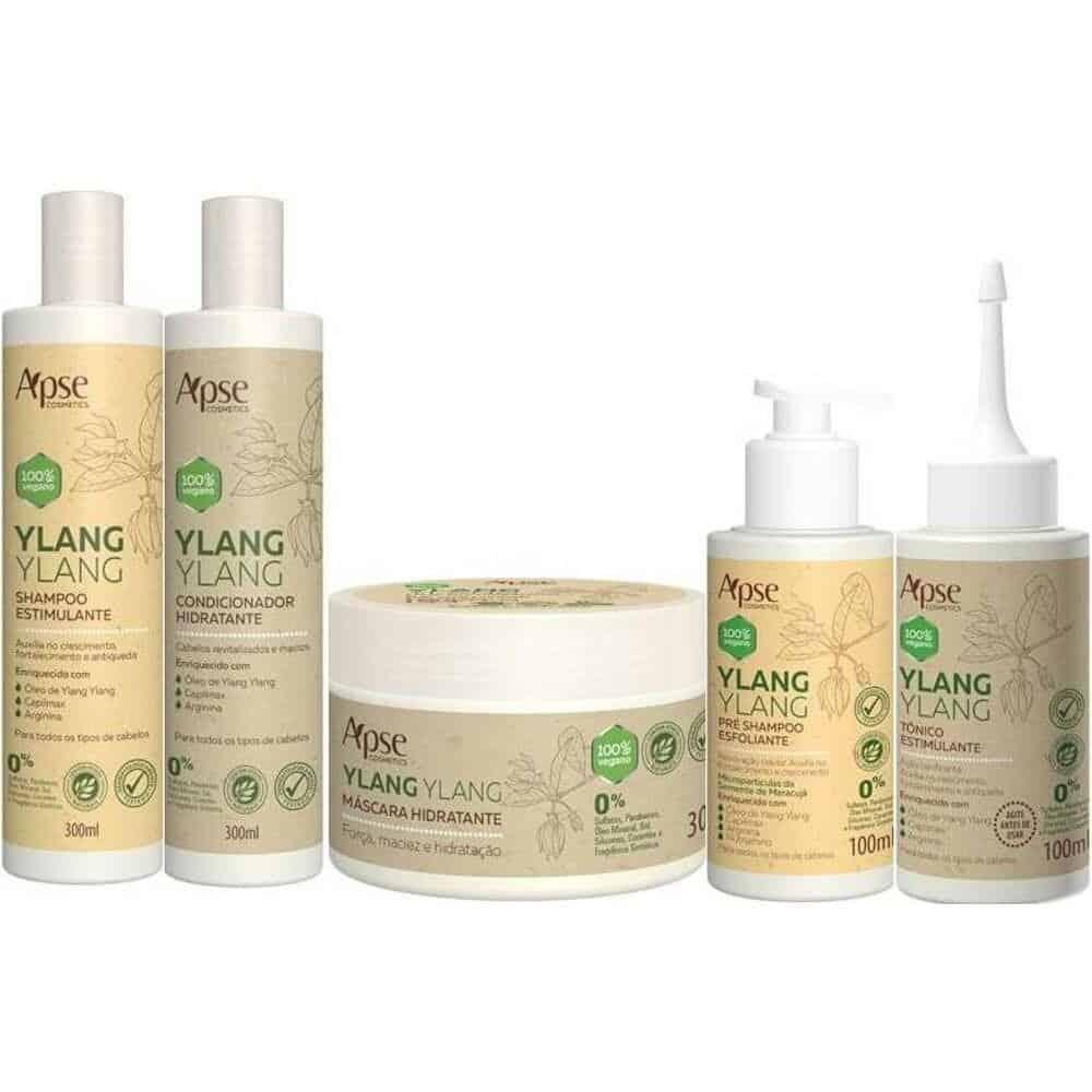 Imagem do produto Kit Crescimento Capilar Ylang Ylang (5 itens) - 1100g