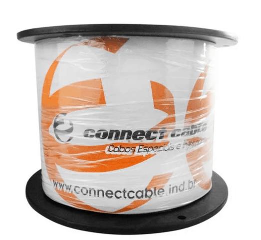 Imagem do produto Cabo de Rede Connect Cabos Cat5 - AZUL 305 Metros