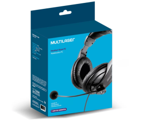 Foto2 - Headphone com Microfone Multilaser GIANT - PH049