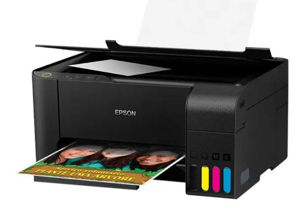 Imagem do produto Impressora Multifuncional Tanque de Tinta Colorida Epson EcoTank - L3110