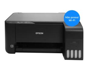 Foto2 - Impressora Multifuncional Tanque de Tinta Colorida Epson EcoTank - L3110