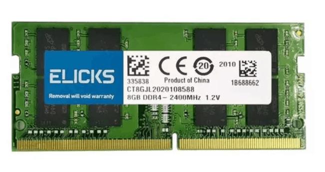 Imagem do produto Memória 8GB DDR4 Elicks CT8GJL - 2400MHz