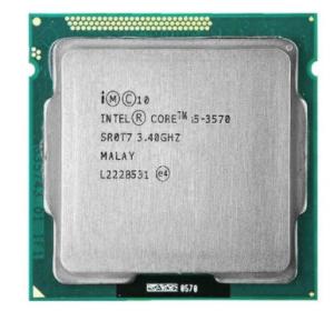 Foto1 - Processador Intel Core i5 3570 3.40GHz 6MB LGA1155 OEM