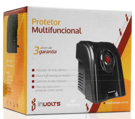 Imagem do produto Protetor Multifuncional Monovolt 115v Involts - 500VA