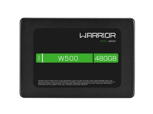 Imagem do produto SSD Gamer 2,5 POL. 480GB - Warrior W500 - SS410