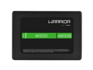 Foto1 - SSD Gamer 2,5 POL. 480GB - Warrior W500 - SS410