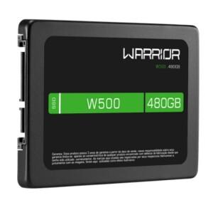 Foto2 - SSD Gamer 2,5 POL. 480GB - Warrior W500 - SS410