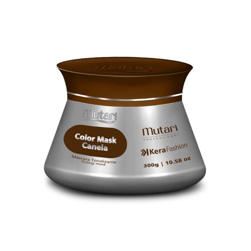 Foto 1 - Máscara Tonalizante Colormask Canela Mutari 300g