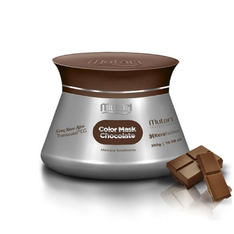 Foto 1 - Máscara Tonalizante Colormask Chocolate Mutari 300g