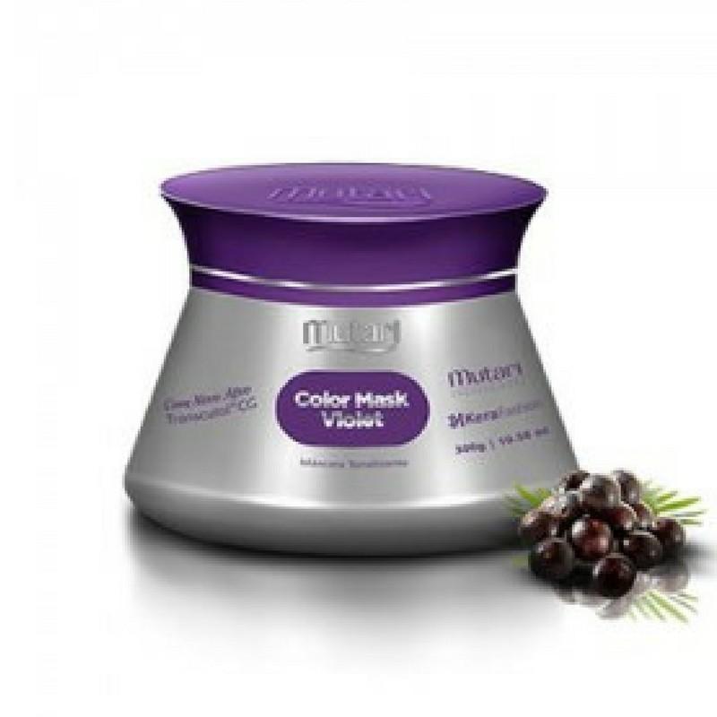 Foto 1 - Máscara Tonalizante Colormask Violet Mutari 300g