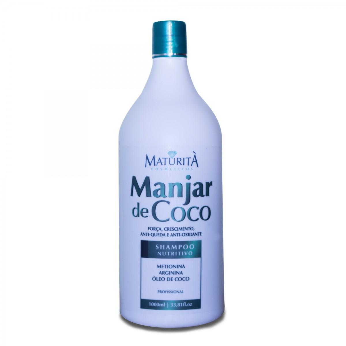 Foto 1 - Shampoo Manjar De Coco - Maturitá 1 Litro