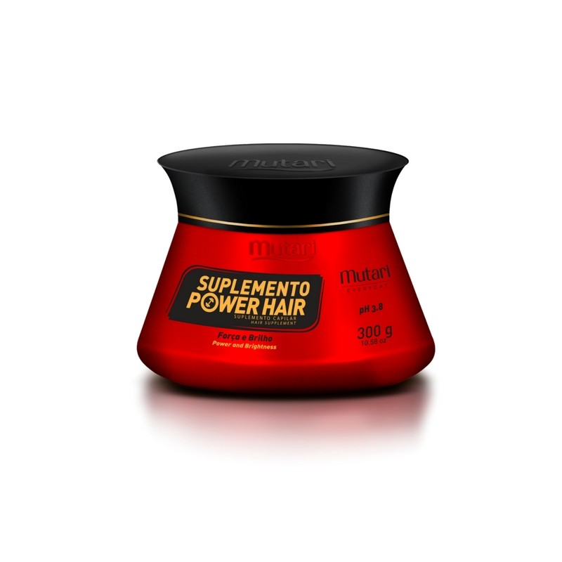 Foto 1 - Suplemento Power Hair Mutari Suplemento Capilar 300g