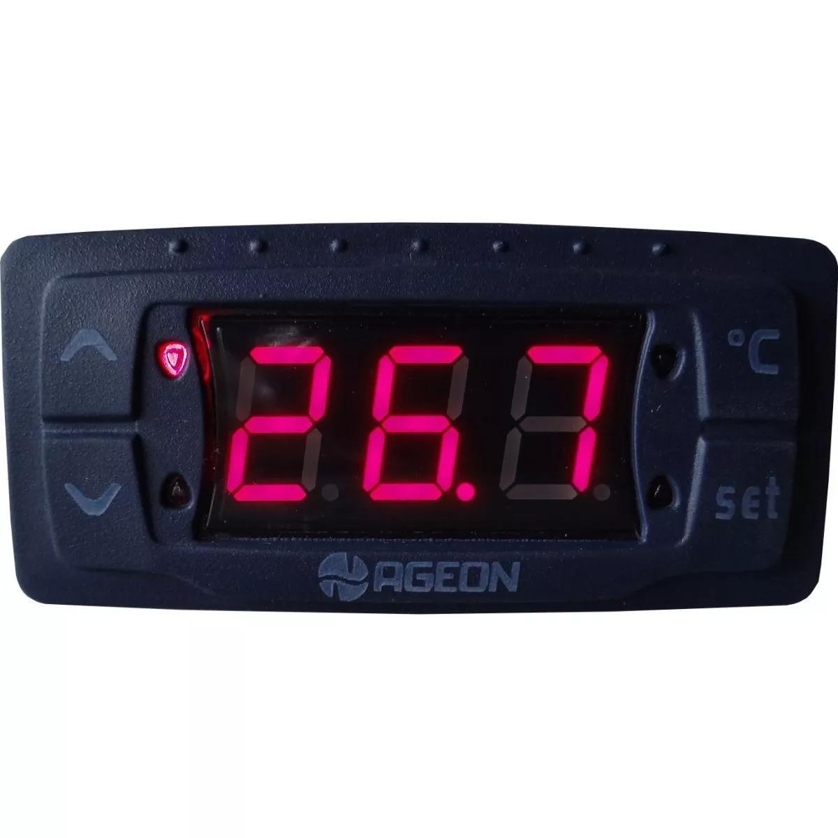Foto3 - Controlador com Temporizador Ageon - Refrigeração / Chocadeiras G103 Triac