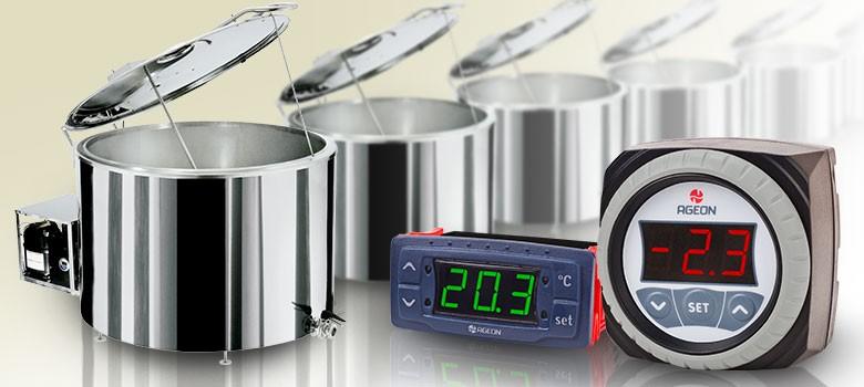 Foto3 - Controlador de Temperatura Ageon H103 Color -50 a +100 graus