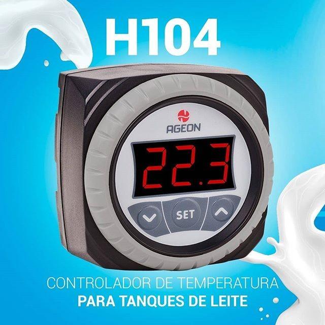 Imagem do produto Controlador de Temperatura Ageon H104 Color - Resfriadores de Leite