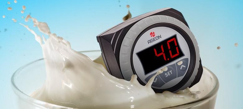 Foto3 - Controlador de Temperatura Ageon H104 Color - Resfriadores de Leite