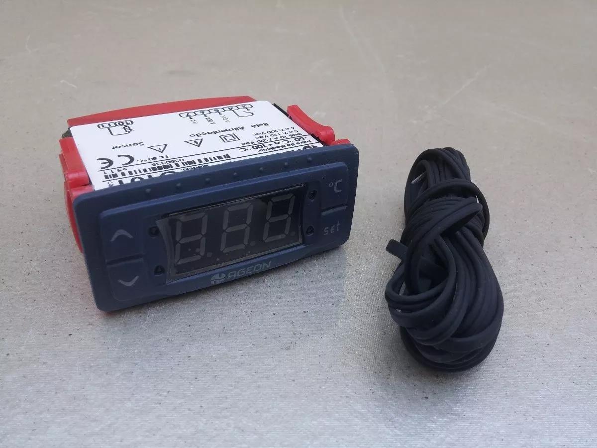 Imagem do produto Controlador Temperatura Automático - Ageon - G101 -50 +100 graus - Bivolt