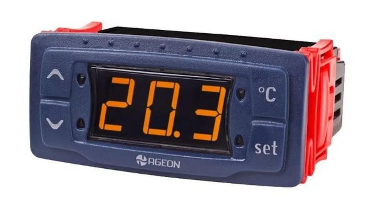 Foto3 - Controlador Temperatura Automático - Ageon - G101 -50 +100 graus - Bivolt