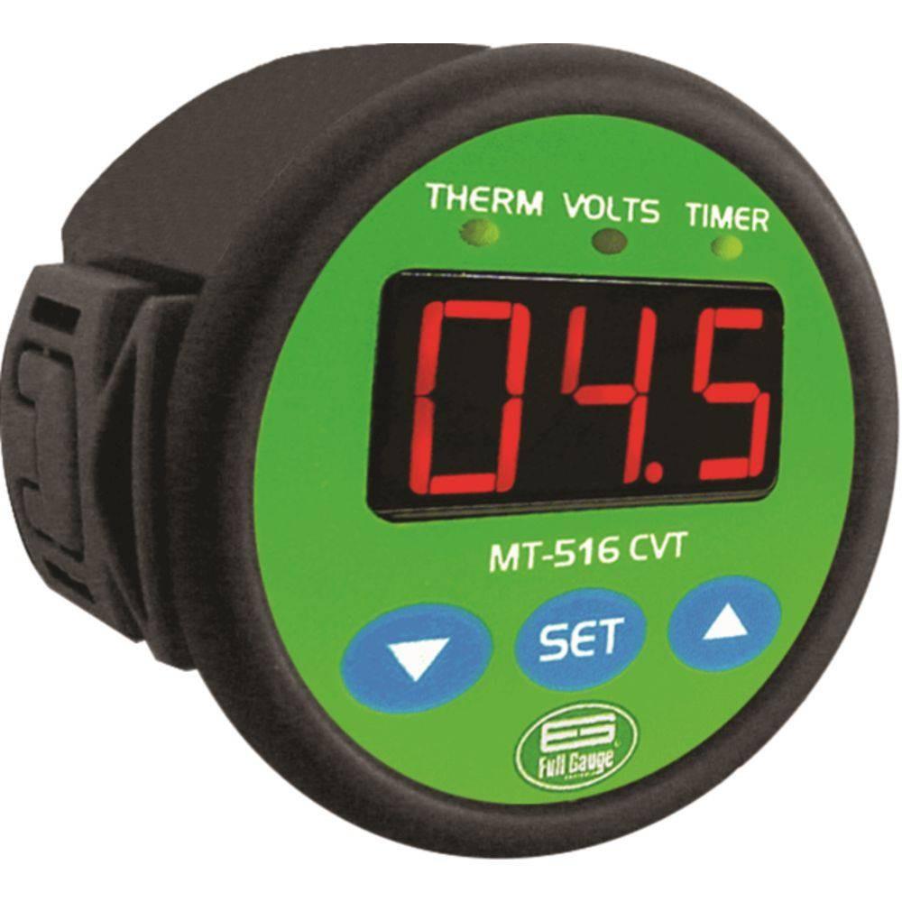 Imagem do produto Controlador Temperatura Full Gauge com Timer e Monitor de Tensão MT516CVT - BIVOLT
