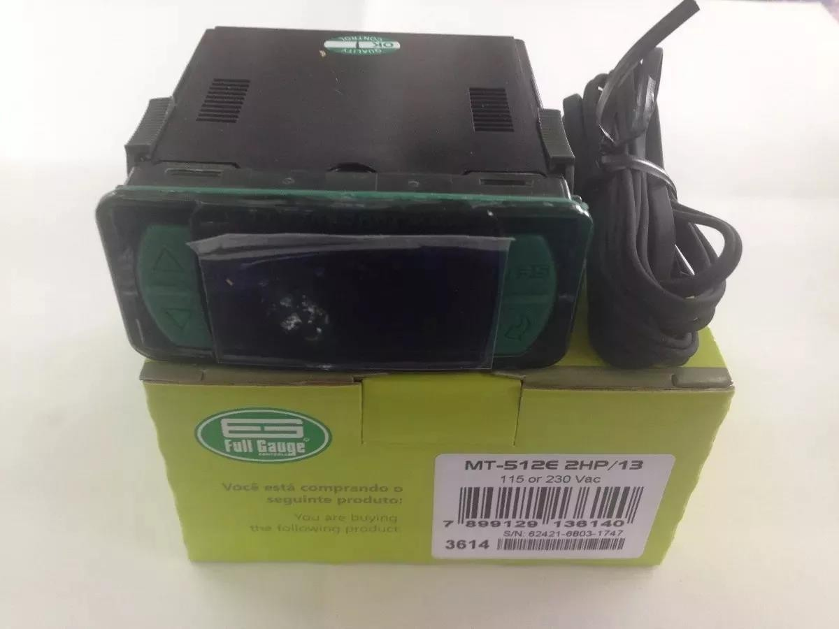 Foto3 - Controlador Temperatura MT512E - 2HP Full Gauge - BIVOLT