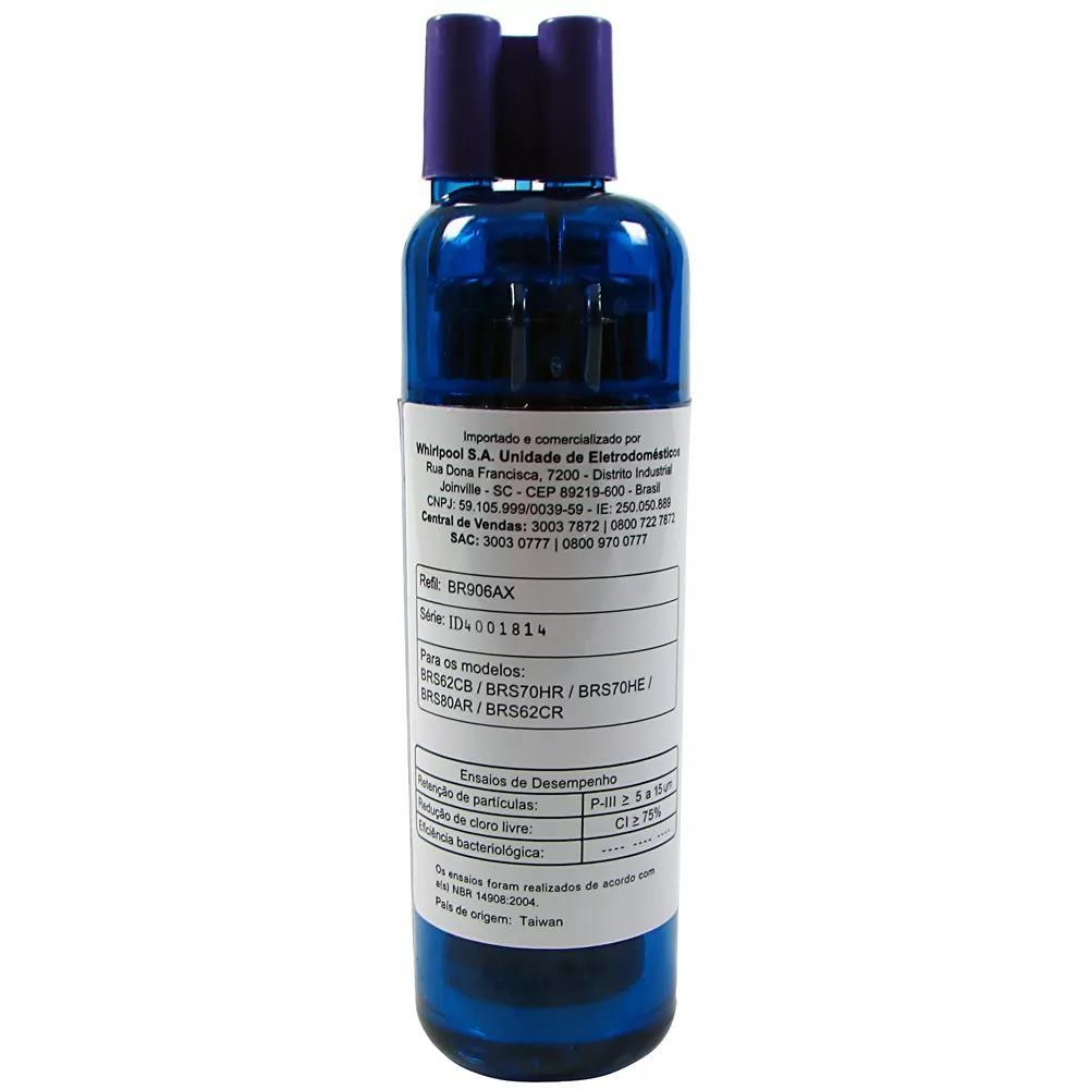Imagem do produto Filtro Água Original Geladeira Side By Side Brastemp W10510889 BR906AX
