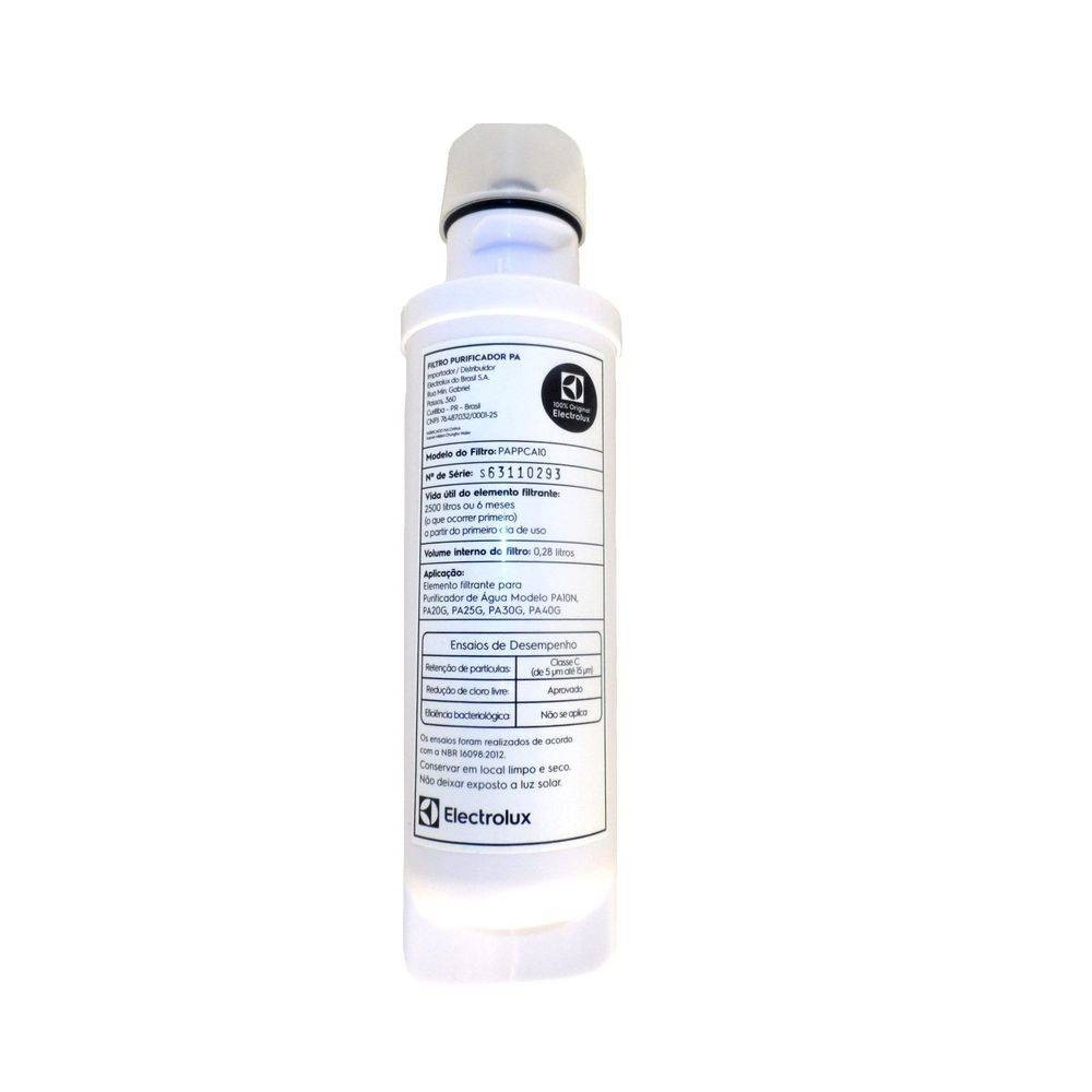 Foto2 - Filtro Purificador Agua Electrolux Pa40 Pa20 Pa25 80000702