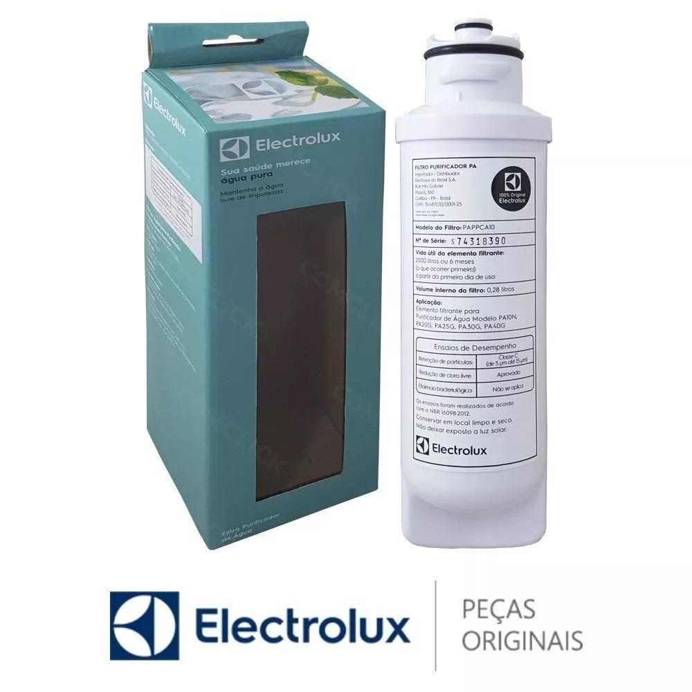 Imagem do produto Filtro Purificador Agua Electrolux Pa40 Pa20 Pa25 80000702