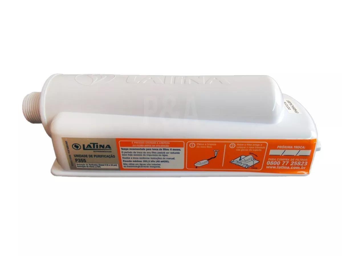 Imagem do produto Filtro Refil para Purificador de Água LATINA P355 (Original)