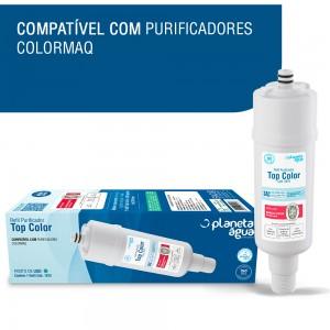 Foto1 - Filtro Refil Vela Top Color Purificador De Água Colormaq - Planeta Agua - 1075