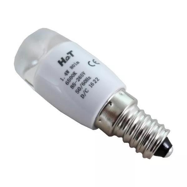 Foto2 - Lâmpada Led para Refrigerador Electrolux - E14 - 1.4W Bivolt