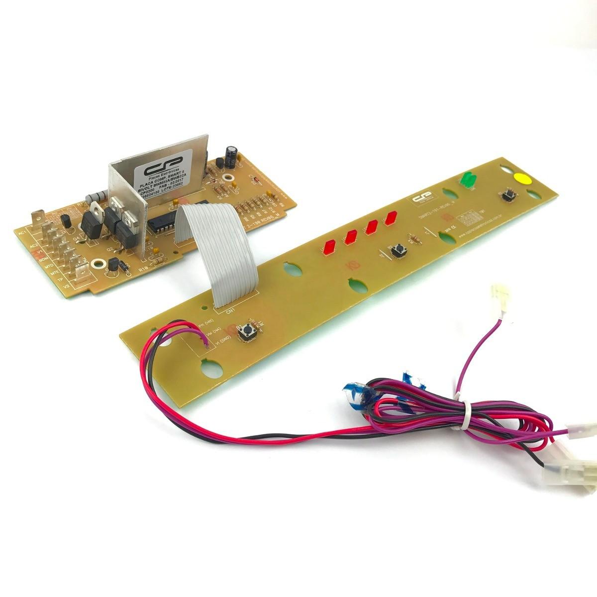 Imagem do produto Placa Controle CP - Lavadora Smart 5kg - BWM05 / BWB22 - Bivolt