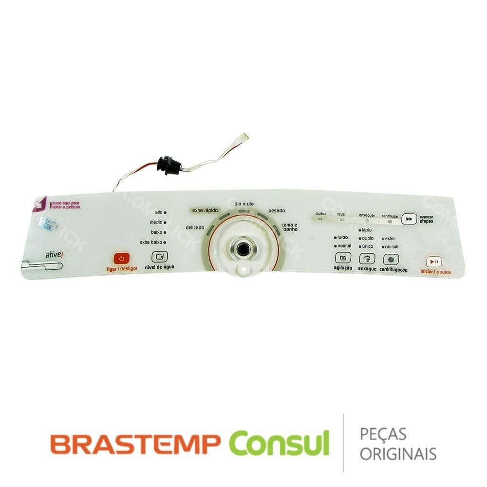 Imagem do produto Placa Eletrônica Interface Lavadora Brastemp W10463578