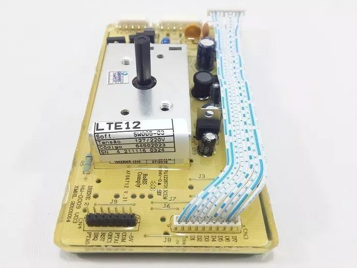 Foto2 - Placa Eletrônica Lavadora Electrolux LTE12 - 127V - 64502023