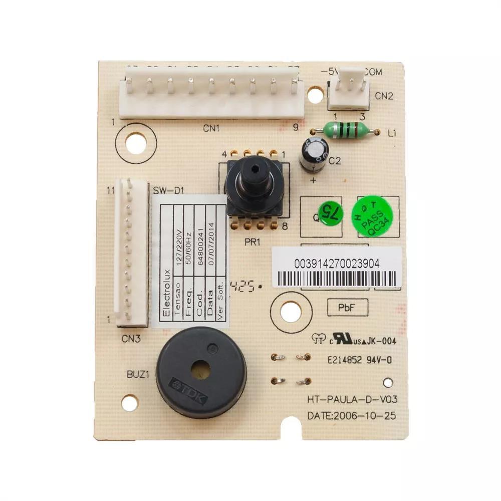 Imagem do produto Placa Nivel Lavadora Electrolux Lts12/ls12 64800241